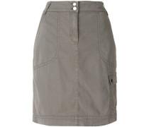 straight-fit skirt