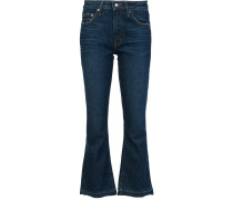 'Gia' Cropped-Jeans