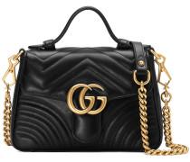 GG Marmont mini top handle bag