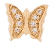 18kt gold Diamond Butterfly Charm necklace