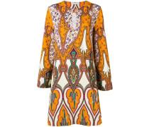 Knielanges Kleid mit Print