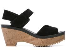 'Fahr' Sandalen mit Wedge-Absatz