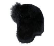 Mütze mit Fuchspelz