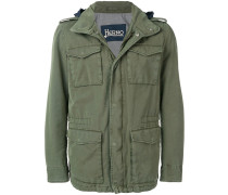 Military-Jacke mit Kapuze