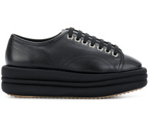'Diva' leather sneakers