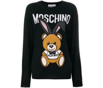 Intarsien-Pullover aus Schurwolle
