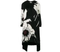 Oversized-Mantel mit Blütenmuster