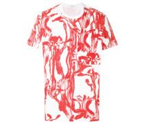 Bedrucktes T-Shirt mit Brusttasche