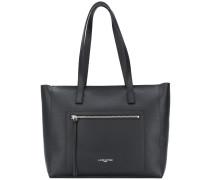 zip pocket shoulder bag