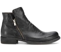 'Magnete' Stiefel mit Reißverschlüssen