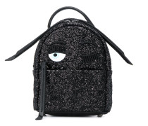 'Flirting' Rucksack in Glitter-Optik