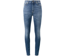 Taillenhohe Skinny-Jeans