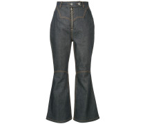Hemisphere cropped trousers