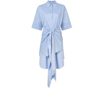 wrap detail dress