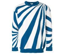 Psychedelic Intarsia stripe jumper