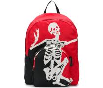 Rucksack mit Skelett-Print