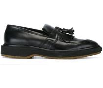 Loafer mit Fransen und Quaste