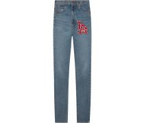Skinny-Jeans mit LA Angels™-Patch