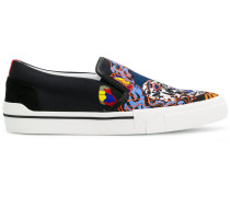 Medusa slip-on sneakers