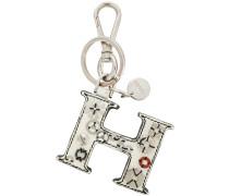 """Schlüsselanhänger mit """"H""""-Motiv"""