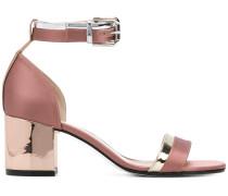 slingback buckle sandals