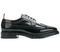 Shiny Leather Longwing Brogue