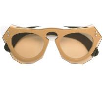 Brille mit mehrlagigem Gestell