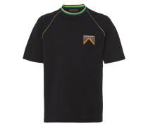 T-Shirt mit Logo-Schild
