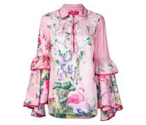 Florales Poloshirt