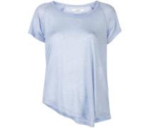 T-Shirt mit asymmetrischem Saum