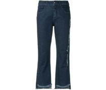 Lockere Jeans-Culottes