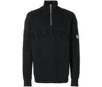 'Braves' Sweatshirt mit Reißverschluss