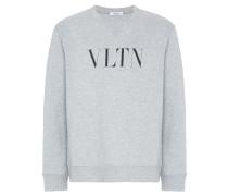 """Sweatshirt mit """"VLTN""""-Print"""
