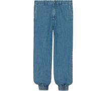 Jeans im Jogging-Stil