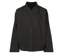 pleated lightweight jacket - Unavailable