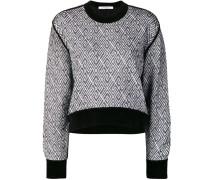 Sweatshirt mit 4G-Muster