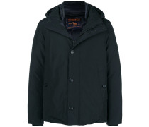 stand up collar padded jacket