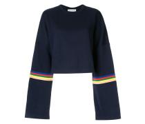 'Rainbow' Cropped-Sweatshirt