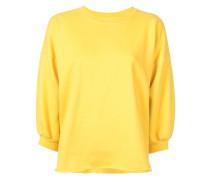 Sweatshirt mit Cropped-Ärmeln