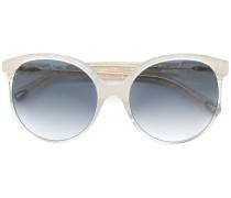 Gemusterte Oversized-Sonnenbrille