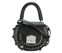 rivet detail shoulder bag