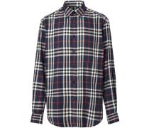 Flanellhemd mit Vintage-Check