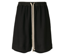 Kurze Shorts mit Kordelzug