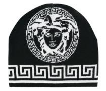Wollmütze mit Medusa-Motiv