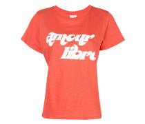 Amour Libre print T-shirt
