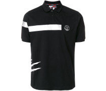 printed detail polo T-shirt - Unavailable