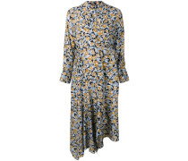 'Dhana' Kleid mit Blatt-Print