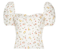 Casterly floral print top