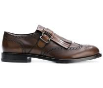 Monk-Schuhe mit Zierlasche