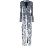 Cloud velvet maxi dress